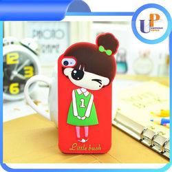 Beautiful Customized Christmas gift silicone phone case OEM