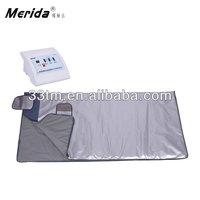 HOT factory manufactured Far infrared 3 heating sauna slimming blanket detox machine