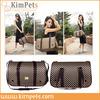 foldable grid satchel pet bag dog carrier