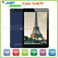 7.9 pollici sottile tablet pc talk79 octa u55gt-c8 mt8392 core cpu 2.0 GHz 2gb 16gb ram rom 2048x1536p 3g telefonata gps otg