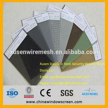 316 Marine grade Stainless Steel mesh for Security screen window doors (ANPING FACTORY)