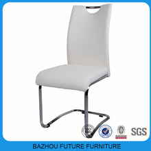 modern metal leg leather used restaurant chair