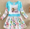 Alibaba wholesale frozen pettti dresses kid clothes for girls