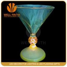 Christmas Decoration Led Martini Glasses, Led Flashing Cups