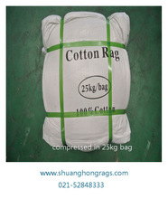 100% cotton textile waste rags for cleaning with cheap price in china