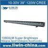 Liwin wholesale single row 120w cree led light bar auto parts for jeep cherokee LW LBL 120W