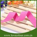 heap imagen personalizada cinturón de cinta de color sólido impreso real bandalateral elástico cintas y cordones para la artesanía