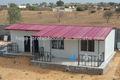 Temporal prefabricada de la escuela proyecto, Casas con 2 dormitorio, Prefabricada armazón de la casa para libia