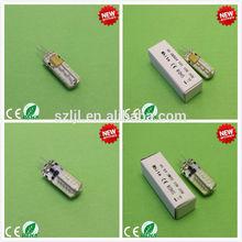 Hot Sale Warm White G4 Bulb 2700K~3000K SMD3014 24leds(CE&RoHS Compliant)