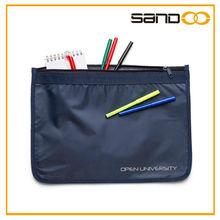 Wholesale 2014 new product zipper congress pouch, waterproof document bag
