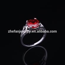 2014 new fashion 3 carat diamond solitaire ring