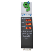 led street light price outdoor advertising display stand display gas light box
