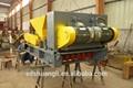 Ling- feng 300*1200 prix usine précontraint dalle de béton formant la machine/panneau de plancher de béton creux machine