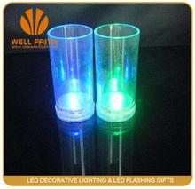 2014 China wholesale plastic led juice glasses, led drinking glasses