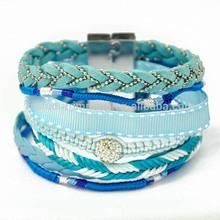 Top price Magnetic Silk Ribbon wrap bracelets