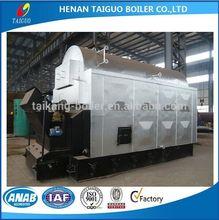 Wood fired steam boiler for sale, wood burning boiler from Henan