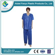 chinese collar medical surgical scrub suit for men