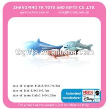 funny pescado de plástico de juguete de baño organizador