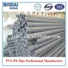 ISO/ASTM/JIS/AS/BS Standard Grey PVC Pipes (63mm)