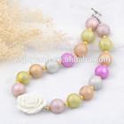 2014 wholesale fashion children bubblegum beaded necklaces jewelry ,Acrylic big chunky necklaces!!!