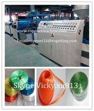 China manufacturer raphia pp extruderuse machine Email:ropenet16@ropeking.com/skype:Vicky.xu813