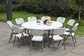 la maison en plein air de fête de banquet hôtel restaurant traiteur événements de mariage location de table pliante en plastique ronde