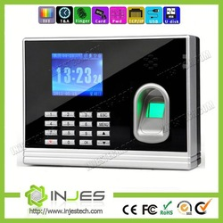 TFT Screen 3000 Users Free Software TCP/IP bio metric fingerprint clocking with time recorder