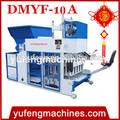 Venda quente dmyf- 10a movable bloco de concreto que faz a maquinaria