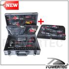 POWERTEC 88pcs professional hand tool kit with aluminum tool box