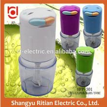 Double speed Automatic Mini Plastic Electric Food Processor