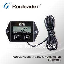 wholesale Digital inductive Hour meter tachometer tach digital snowmobile KAWASAKI atv motorcycle atv