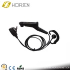 Horsen professional high quality two way radio headset earhook headphone