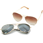 Classic sunglass aviator,effective lens metal sunglass