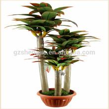 Slim garden decoration artificial bonsai plants