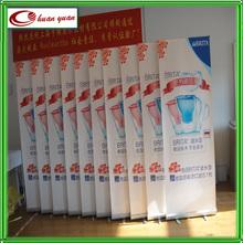 Aluminum economic retractable banner designs graphics