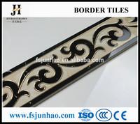 New Design Natural Building Artificial Ceramic Material Border Skirting Tiles