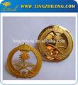 Personalizados exército rank insignia, creative men's emblemas de lapela pinos, emblemas do exército