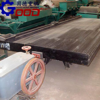 small gold shaker table Energy-saving Shaking Table for mineral separation