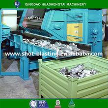 Efficiently aluminium sand blasting machine and casting parts sand blasting equipment