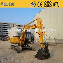 Motore cummins pesante terna escavatore idraulico, 15 tonnellate escavatore cingolato