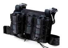 Aus2013 serpente nero modello fotografia outdoor Kit/borsa moto cavaliere/arrampicata gambe stick pack tip sacchetto del sacchetto