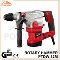 Powertec ce/gs 32mm 1250w rotary martillo eléctrico