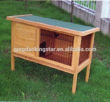 cheap wooden rabbit hutch