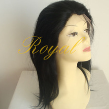 Natural Texture Human Hair Wigs Indian Virgin Hair Lace Front Wigs