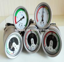 alibaba china suppliers stainless steel sf6 pressure gauge/manometer