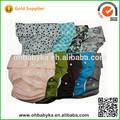 colorido ohbabyka pañales de tela moderna de un tamaño ajustable reutilizables adulto pañal de tela de la cubierta