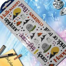 2014 HOT adhesive halloween dome sticker for children