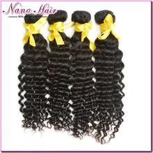 Nana Beauty Rosa KBL Deep Wave Xsion for black women 100% Raw Unprocessed Brazilian Human hair