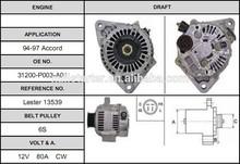 Best-selling auto alternator for 94-97 Accord cjs88 alternator