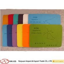 New mouse mat,ecofriendly color Felt Mouse Pad
